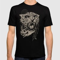 Jaguar Sun Mens Fitted Tee Black SMALL