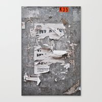 Urban Archaeology - Copenhagen Canvas Print