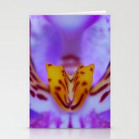 Orchid Anatomy Stationery Cards
