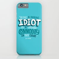Idiot Commodity iPhone 6 Slim Case