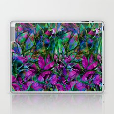 Floral Abstract Stained Glass G276 Laptop & iPad Skin