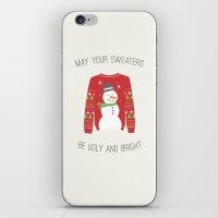 Ugly Sweater iPhone & iPod Skin