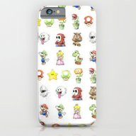 Mario Characters Waterco… iPhone 6 Slim Case