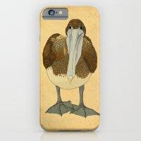 iPhone & iPod Case featuring Ploffskin Pluffskin Pelican Jee by Megs stuff...
