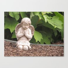 Praying Angel- Faith Canvas Print