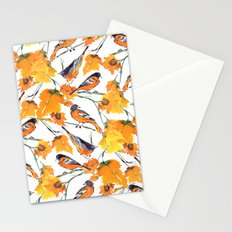 Birds in Autumn Stationery Cards