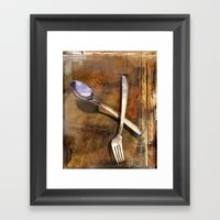 Broken Dreams Framed Art Print