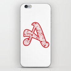 Scarlet A - Version 2 iPhone & iPod Skin