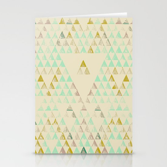Triangle Lake Stationery Card