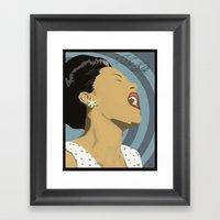 Billie Holiday Framed Art Print