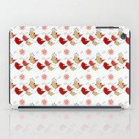 Cute Birds Pattern iPad Case