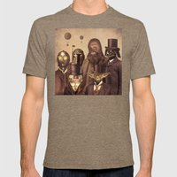 Victorian Wars  Mens Fitted Tee Tri-Coffee SMALL