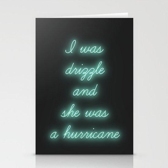Hurricane Stationery Card