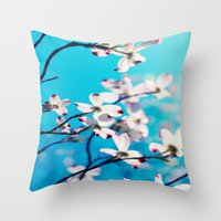Youthful Folly Throw Pillow