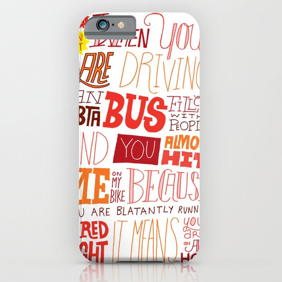MBTA: Fun Fact! iPhone & iPod Case