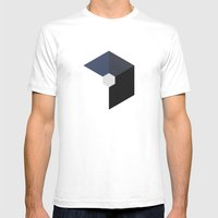 Logo Mens Fitted Tee White SMALL