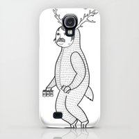 Galaxy S4 Cases featuring On the inconveniences of dressing up as an animal. by Michael C. Hsiung