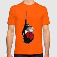 Asian Sun Mens Fitted Tee Orange SMALL