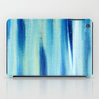 Beach Blues Absract iPad Case