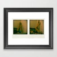 Pola Framed Art Print