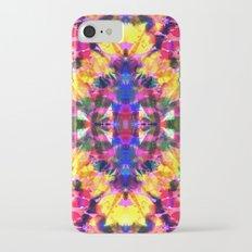 Tropical Tie Dye iPhone 7 Slim Case