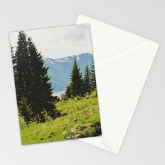 the forest and the fjords Stationery Cards