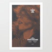 VIDEODROME Movie Poster Art Print