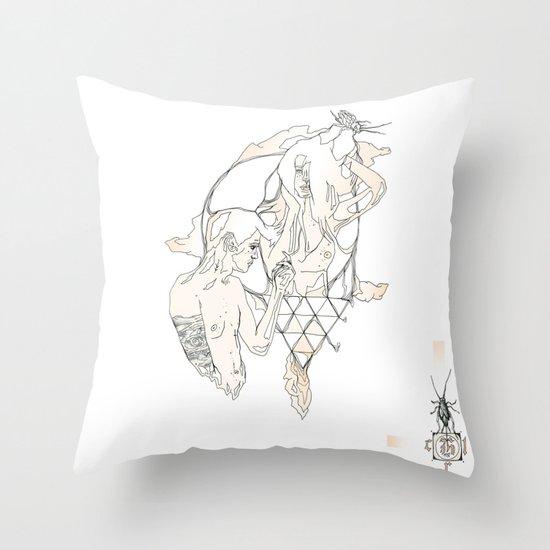 H A I R  Throw Pillow