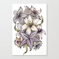 Little Bouquet Of Spring Canvas Print