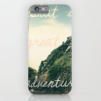 iPhone & iPod Case featuring what a great adventure by Leah Flores