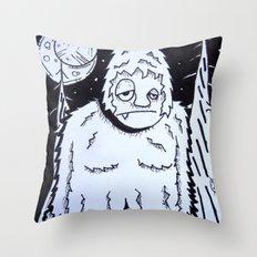 Bigfeet Throw Pillow