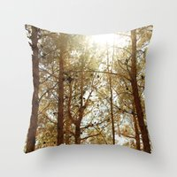 The Air I Breathe Throw Pillow