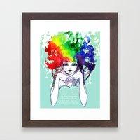 Spectra Framed Art Print