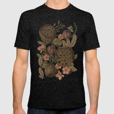 Botanic Garden Mens Fitted Tee Tri-Black SMALL