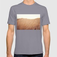 Golden Field Mens Fitted Tee Slate SMALL