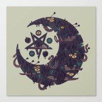 The Dark Moon Compels Yo… Canvas Print