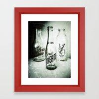If You Could Bottle Dreams Framed Art Print
