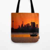 Sunset Sail Ashbridges B… Tote Bag