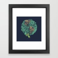 Prince Atlas Framed Art Print