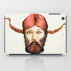 Wendy, The Bearded Lady iPad Case