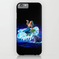 Mermaid with Dolphin iPhone 6 Slim Case