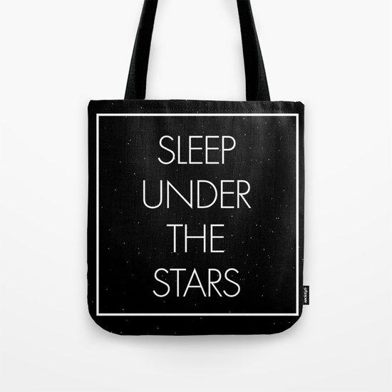 Sleep Under The Stars Tote Bag