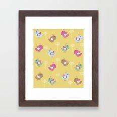 Cute Pattern 6 Framed Art Print