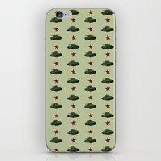 Tank Pattern iPhone & iPod Skin