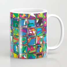 Stacks Geometric Art Print. Mug