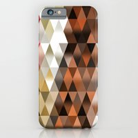 triangle iPhone & iPod Cases featuring Triangle by Susann Mielke