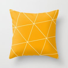 Pure Honey Throw Pillow