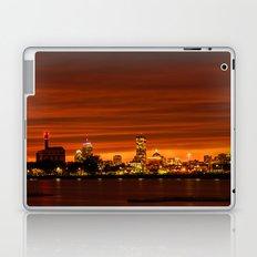 Boston, Christams night - Sundusk Laptop & iPad Skin