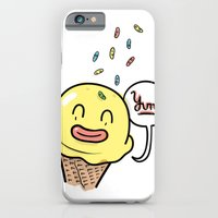 iPhone & iPod Case featuring Friends Go Better Together 6/7 - Ice Cream and Sprinkles by Steven Preisman