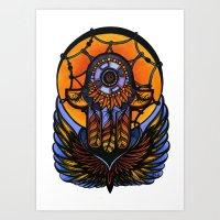 Hamsa II Art Print